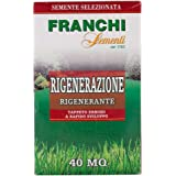 Grass Seeds (Made in ITALY) by FRANCHI® Grows in Extreme Conditions Including Full Sun and Dense Shade