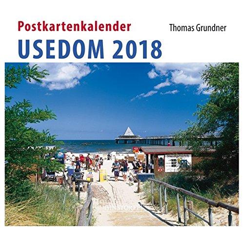 Postkartenkalender Usedom 2018 por Thomas Grundner (Fotos)