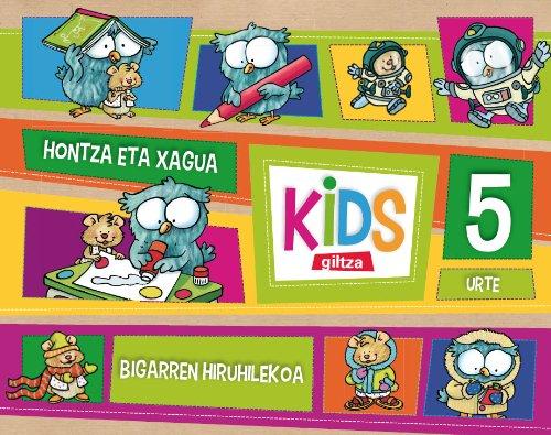 KIDS GILTZA 5 URTE BIGARREN HIRUHILEKOA - 9788483782804 por Obra Colectiva Edebé