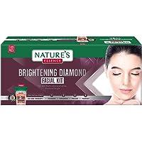 Nature's Essence Brightening Diamond Facial Kit 3 Use, White, 75 gm, Diamond, 5 count