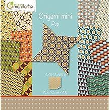 Avenue Mandarine pochette Origami Mini