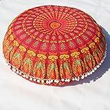 Best Better Home Patio Furniture Sets - MAYUAN520 Cushion、Decorative Pillows Indian Mandala Pillows Round Bohemian Review