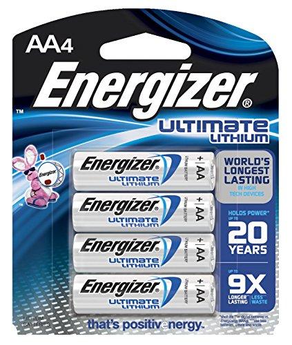Energizer Ultimate Li AA-4 Sensor EMOD Energizer Ultimate Aa-batterien
