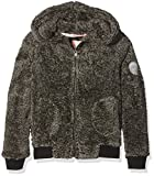 Roxy Window Blues Polaire Fille, Charcoal Heather, FR : 12 Ans (Taille Fabricant : 12/L)