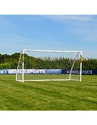 FORZA Match - 3,7 x 1,8 m wetterfestes Fußballtor. Neu: auch mit abnehmbarer Torwand bestellbar! [Net World Sports]