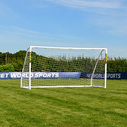 FORZA Match But de Foot PVC avec Filet (1,5m x 1,2m  4,9m x 2,1m) [Net World Sports] (4,9m x 2,1m)