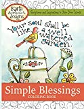 Simple Blessings: Coloring Designs to Encourage Your Heart