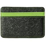 Portafoglio Magico in simili cuoio - magic wallet Credit Card Holder - porta moneta --Verde
