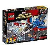 #10: Lego Captain America Jet Pursuit, Multi Color