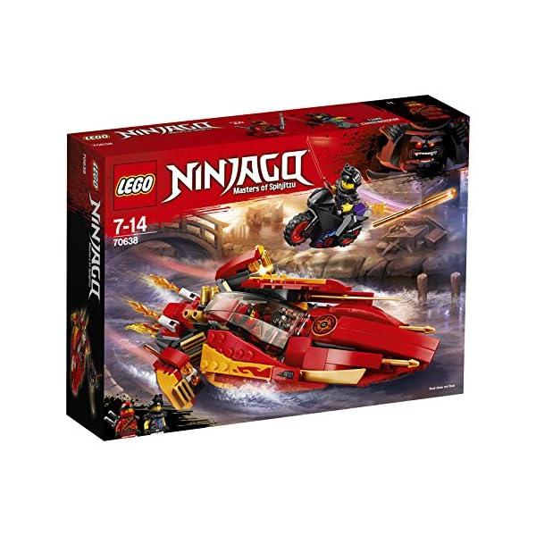 LEGO- Ninjago Katana V, Multicolore, 70638 4 spesavip