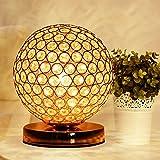 &Lampe de table Lampe de table en cristal de LED, lampe de Tableau de cristal moderne de bureau E27 support de lampe 110-240V salon / lit / lampe de chevet ( Couleur : A )