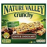 Nature Valley Barre Croccanti Muesli - Avena E Cioccolato (5X42g) (Confezione da 2)