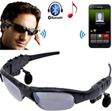 MGM Outdoor Glasses Bluetooth Sunglasses Headphones Stereo Wireless Sport Riding Song Call Ear Buds Earphone-