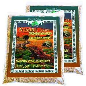 Namiba Terra 20114 Gravel Stella, 1.0-3.0 mm Doppel-Pack Terrarieneinstreu, 2 x 5 kg