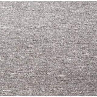 AS4HOME Klebefolie - Möbelfolie Edelstahl Optik - Stahl gebürstet - 67.5 cm x 150 cm