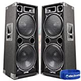 2x Max Dual 12 Inch Passive PA Speakers - Best Reviews Guide