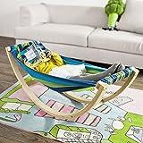 SoBuy® FST33-J Hamac Chaise Longue Enfant Lit