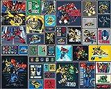 Fototapete - Transformers - Comic Style
