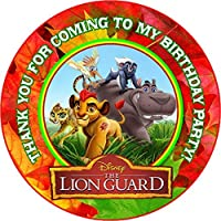 12 Lion Guard Birthday Party Favor Stickers (Bags Not Included) #1 by Crafting Mania LLC.