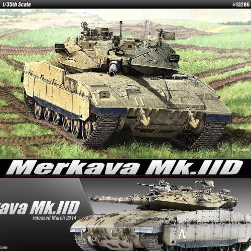 1/35 Merkava Mk.IID Mk 2D 13286 - Plastic Model Kits by Academy Models