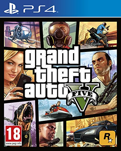 Grand Theft Auto V AT-Pegi - PlayStation 4 - [Edizione: Germania]