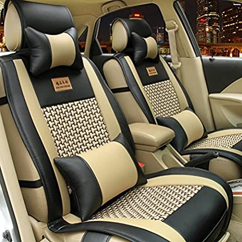 fuway Asiento de coche cojín, diseño de coche cojín lumbar almohada de cuello para Kia Sorento (Modelos de la serie todos Ceed Cerato Carnival sporage R Ceed SW Rio Soul Optima Venga