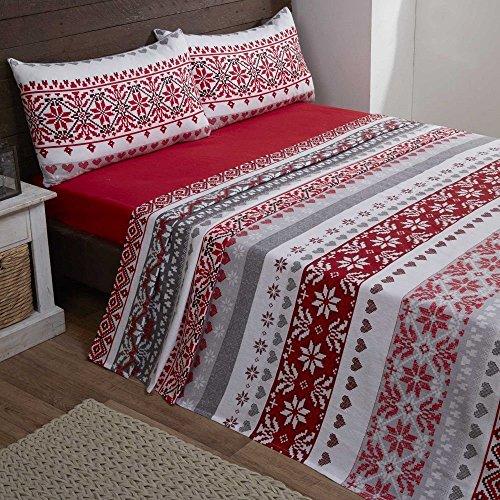 Bedding Heaven Super Soft Flannelette Sheet Set - Candy Stripe ...