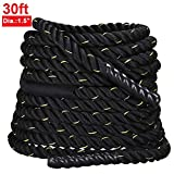 Yaheetech 3.8cm x 9.2M Sports Training Battling Battle Power Rope Bootcamp Exercise Fitness