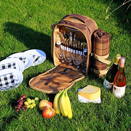 Zoom IMG-1 campfeuer zaino da picnic per