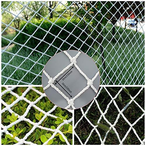 WGE Schutznetz, Treppe Balkon Kindersicherheit Gepäck Anti-Fall-Netz Schutzgartenpflanze Kletternetz(10 cm Maschen, 2 M X 3 M)