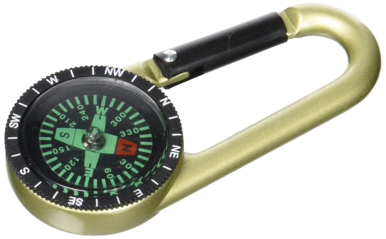 BOYZTOYS (BOYZ TOYS) Gone Outdoors Compass with D-Ring