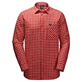 Jack Wolfskin Fraser Island Shirt M Volcano Red Checks