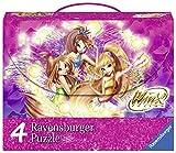 Ravensburger–07275–Winx Mallette avec 4Puzzle
