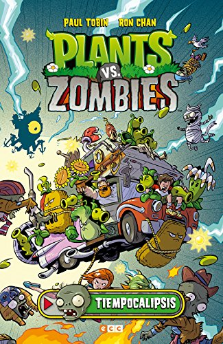 Plants vs. Zombies: Tiempocalipsis por Paul Tobin