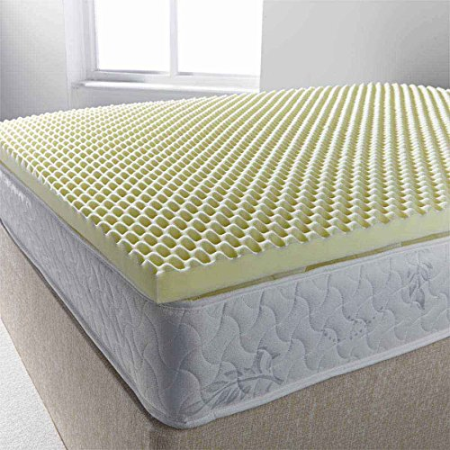 Ultimum egg profiled foam mattress topper - small double 4ft... 2