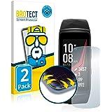 brotect Pellicola Copertura Completa Compatibile con Samsung Gear Fit 2 PRO (2 Pezzi) Full-Cover 3D Curvo