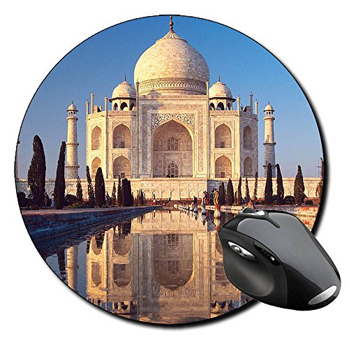 taj-mahal-india-a-alfombrilla-redonda-round-mousepad-pc