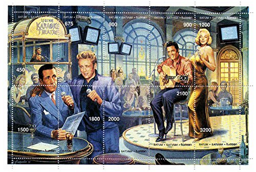 Marilyn Monroe und Elvis Presley auf der Bühne - Mint und - Elvis-souvenir
