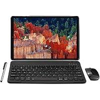 Tablet 10 Zoll Android 10.0 - YOTOPT 4G LTE Tablet PC, Octa-Core 1.6Ghz SC9863, 4GB RAM, 64GB ROM mit Tastatur Maus Und…