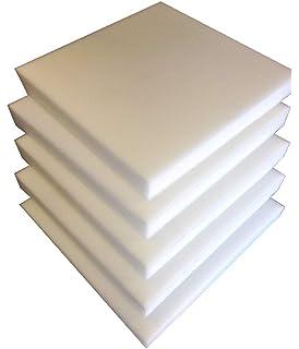 Bng 5 Plaques Mousse Polyurethane 40X40 X3cm Tapissier Ameublement Galette Chaise