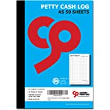 Cherry Petty Cash Log Book SL A5 50pages 80gsm