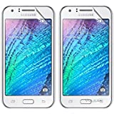 Vulkan Ultra Clear Hd Screen Guard Protector For Samsung Galaxy J1 (Double Quantity)