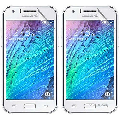 Vulkan Ultra Clear Hd Screen Guard Protector For Samsung Galaxy J1 (Double Quantity)  available at amazon for Rs.119