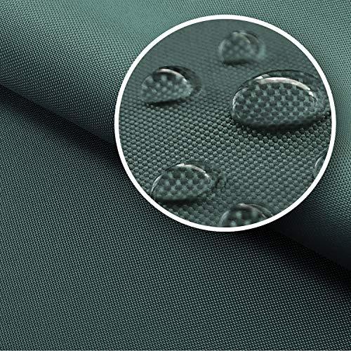 NOVELY® Sunset Oxford 420D Premium SU-02 | Farbe 02 Graphit | extrem reißfestes und dichtes Gewebe | UV-beständig und bedruckbar | Polyester Stoff 1 lfm Outdoor Meterware Strandkorb