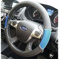 xtremeautoâ ® xauh99d azul/negro funda para volante