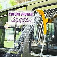 GOTOTOP 12V Camping Dusche Wasserpumpe Brause Auto KFZ Wohnwagen Caravan Outdoor
