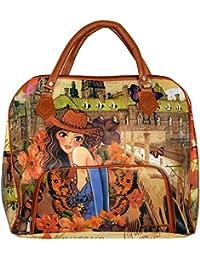 MD Enterprises Women's Handbag (Multi-Coloured, DM037)|Printed Handbags For Women's |Designer Girls Bag