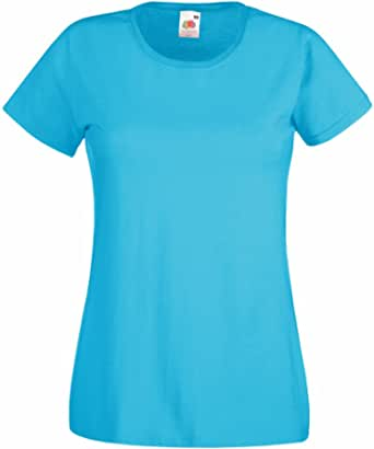 Fruit of the Loom Lady-fit Valueweight T-Shirt SS050
