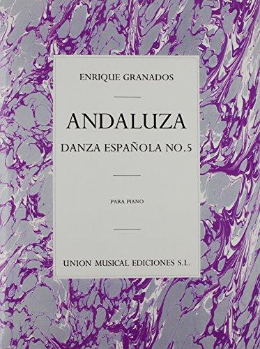 Granados: Danza Espanola No.5 Andaluza por GRANADOS epub