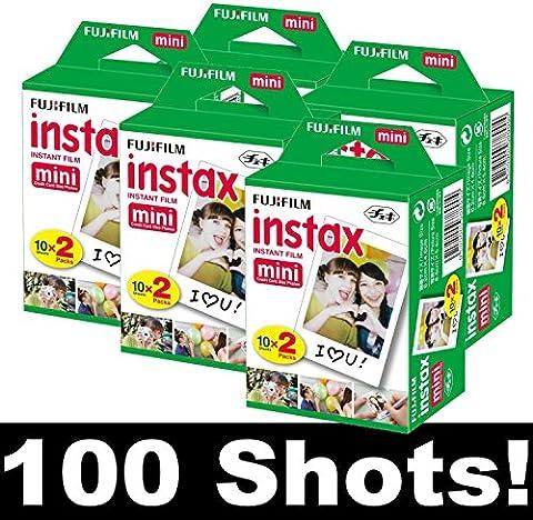 Fujifilm Instax 5x20 Film Mini für Instax Mini 8, Mini 90